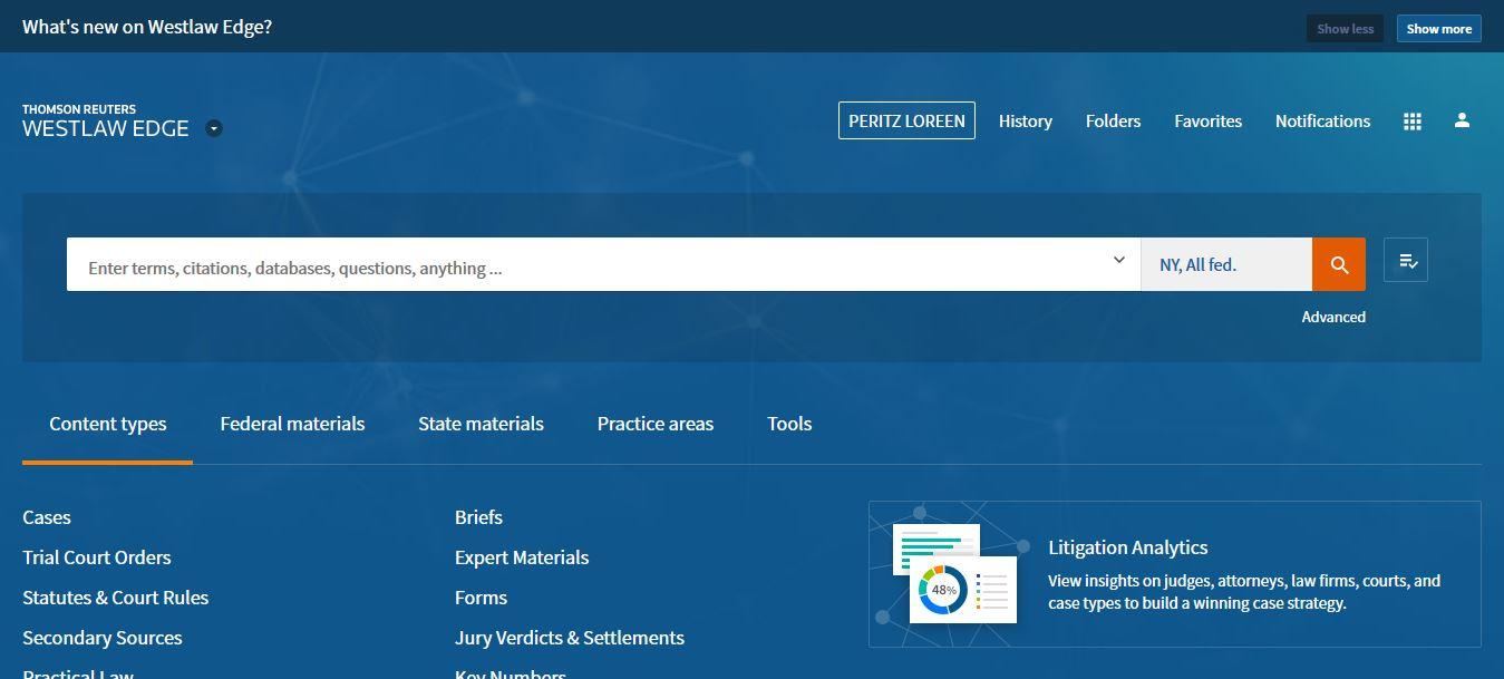 Westlaw Edge Coming to BLS | BLS Library Blog